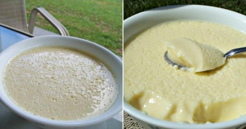 Диетический рецепт крем-десерта