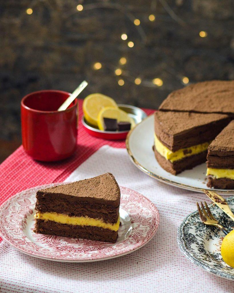 Шоколадно-лимонный торт РИВЬЕРА ??