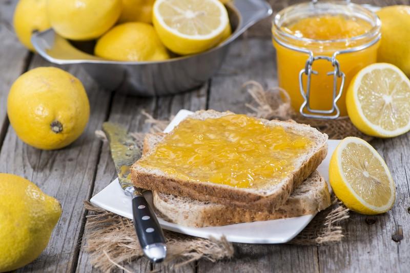 Рецепт варенья из лимонов без варки