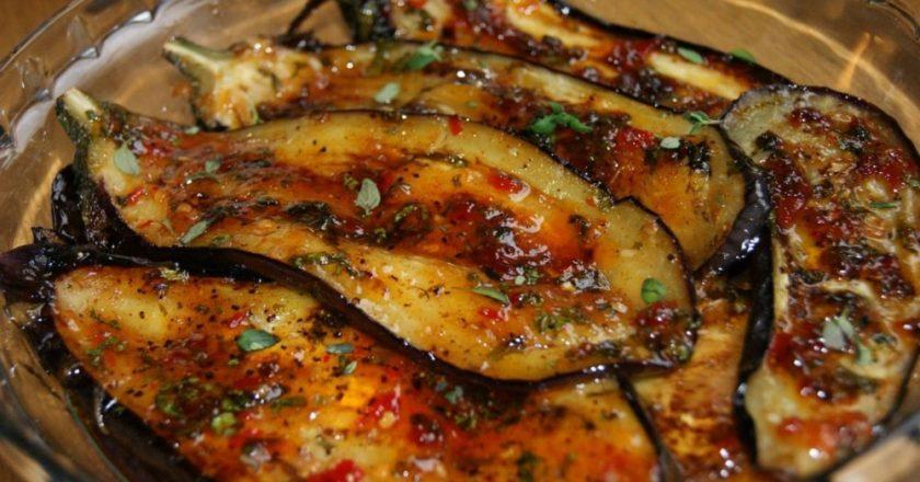 Пикантные баклажаны по-итальянски. Идеальный вариант для летнего ужина!