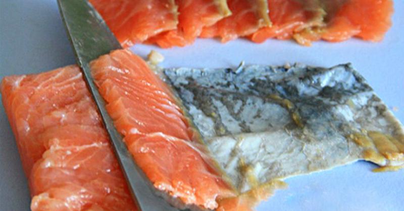 Рыбная закуска «Нежность дракона»: 10 очков тому, кто придумал это сочетание!