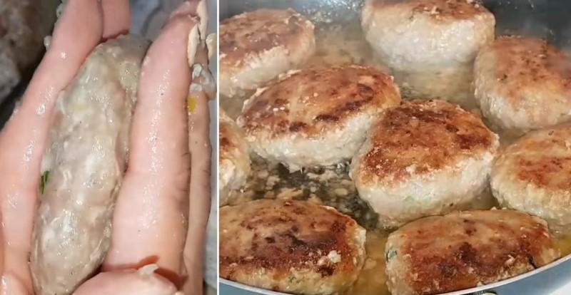 Рецепт котлет без хлеба