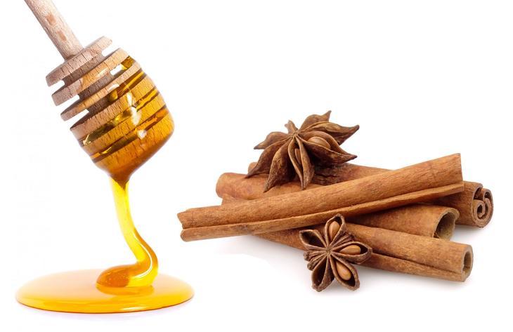 Корица с медом – прицельный удар по лишнему весу