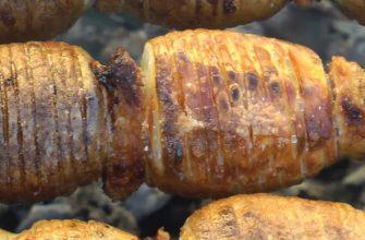 Шашлык из картофеля, который съедается быстрее мясного! Кулинарный шедевр всего из трех ингредиентов.